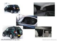 Privacy Shades přesné protisluneční clony - 4 dílná sada Lexus IS sedan -- od roku výroby 2005-